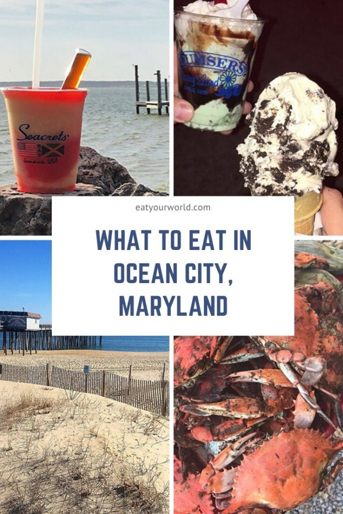 What to eat in Ocean City, Maryland