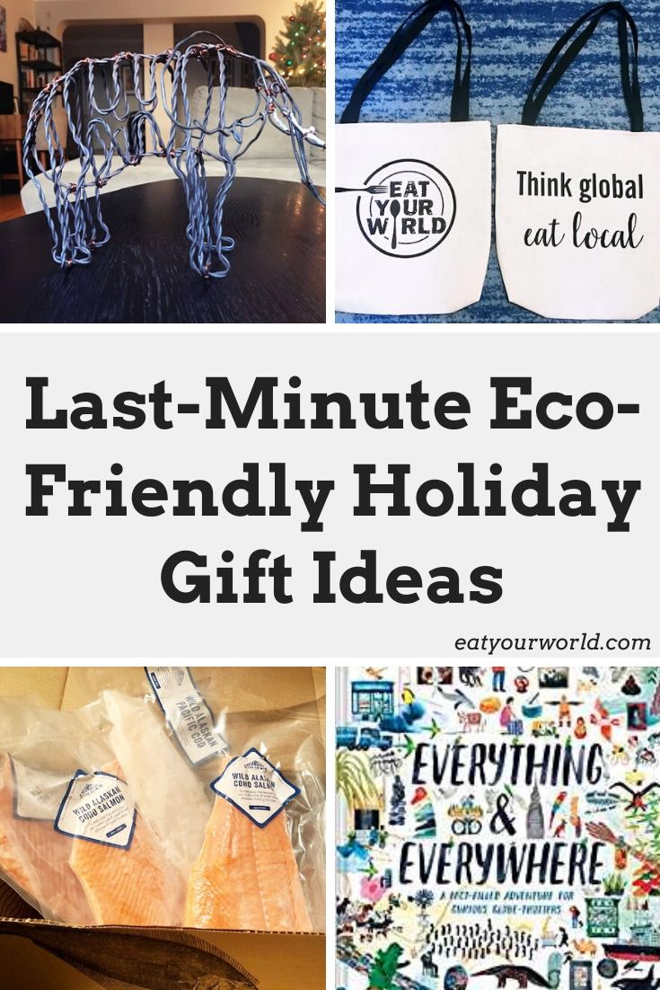 2019 holiday gift guide for sustainable-minded travelers and eaters