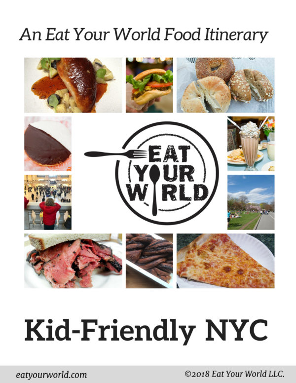 A NYC eating itinerary that's perfect for families visiting New York.