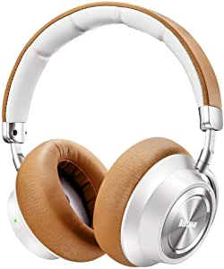 Boltune wireless noise-canceling headphones in brown