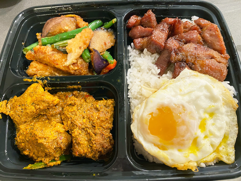 Khao Kang Thai takeout from Elmhurst, Queens