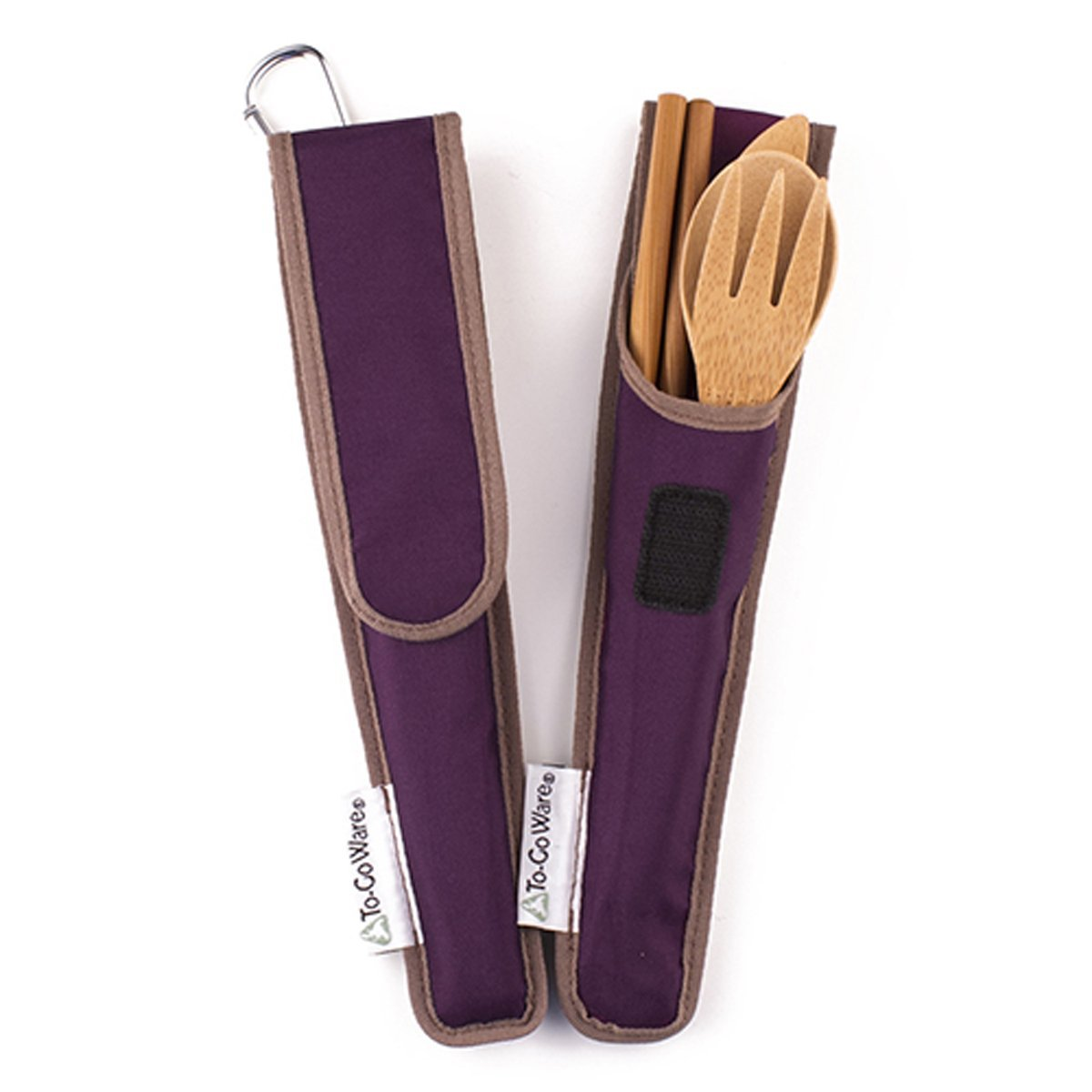 To-Go Ware bamboo utensils are portable and earth-friendly.
