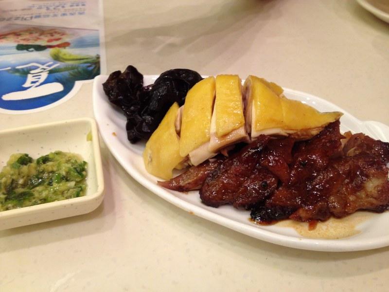 Roasted meat at Tai Hing in Hong Kong