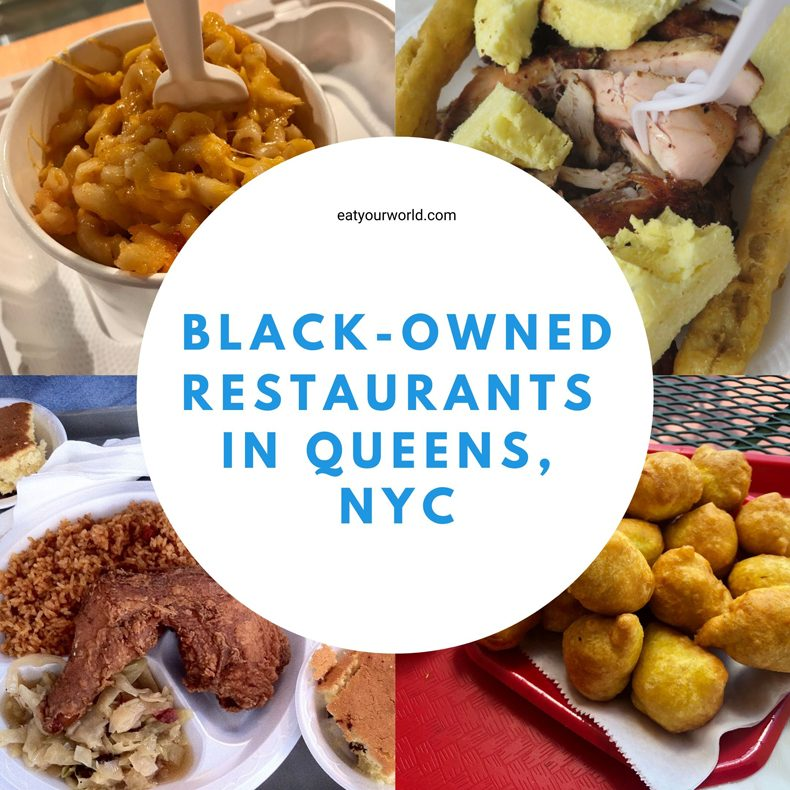 Black-owned restaurants in Queens, NYC