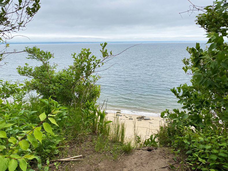 Long Island Sound view from Sands Point Preserve