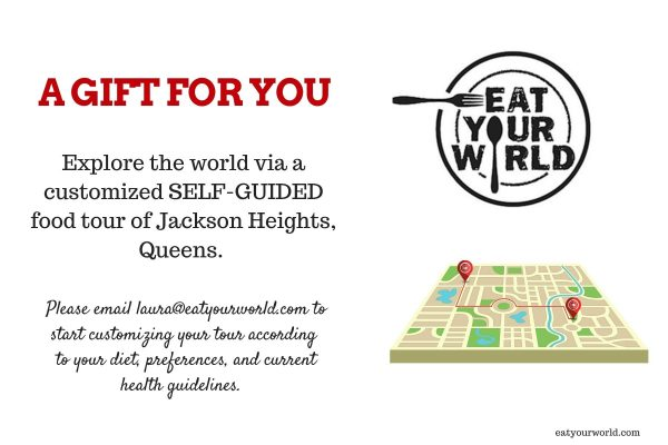 Self-guided food tour of Jackson Heights, Queens