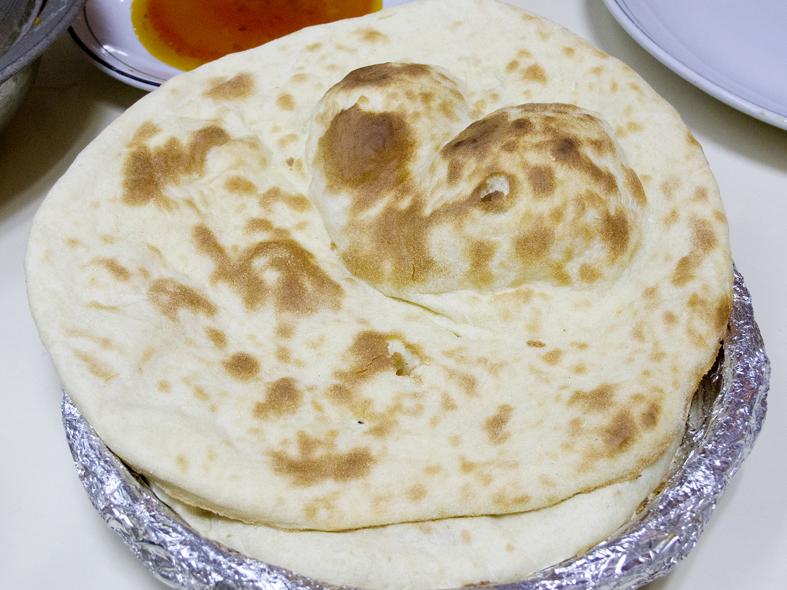 Tandoori roti from Delhi, India