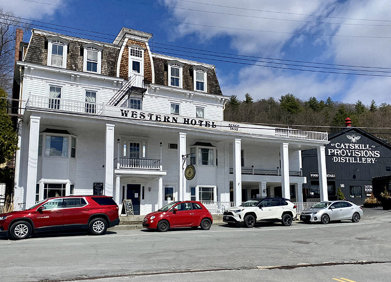Downtown Callicoon's Western Hotel and Catskills Provisions