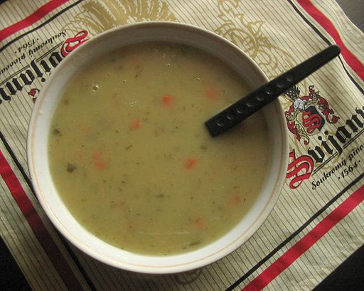 Zupa Ogorkowa, or Polish cucumber soup