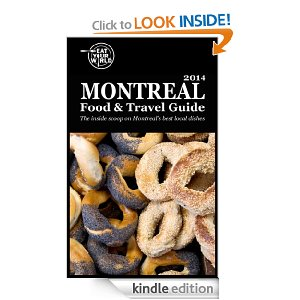 Montreal Food & Travel Guide available on Kindle