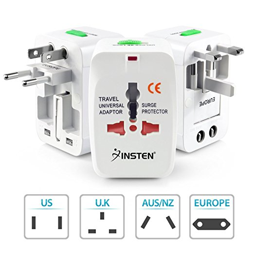 Universal plug adapter for traveling