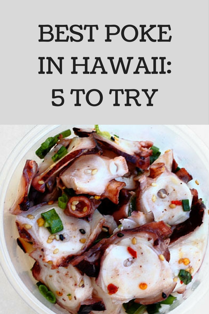 Best poke in Hawaii: 5 to try