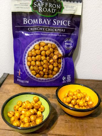 Saffron Road's Bombay Spice Crunchy Chickpeas