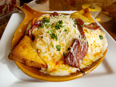 Hot Brown sandwich at the Brown Hotel in Louisville, KY