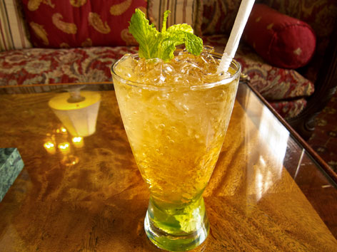 Mint Julep at the Brown Hotel in Louisville, Kentucky