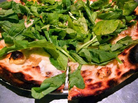 California-style pizza uses fresh, seasonal, creative toppings.