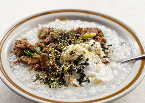 Japanese rice porridge/congee, or okayu