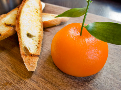 Meat fruit from Dinner by Heston