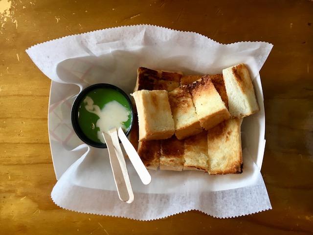 Thai toast from Elmurst, Queens