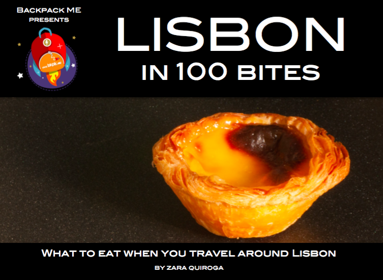 Lisbon in 100 Bites book cover