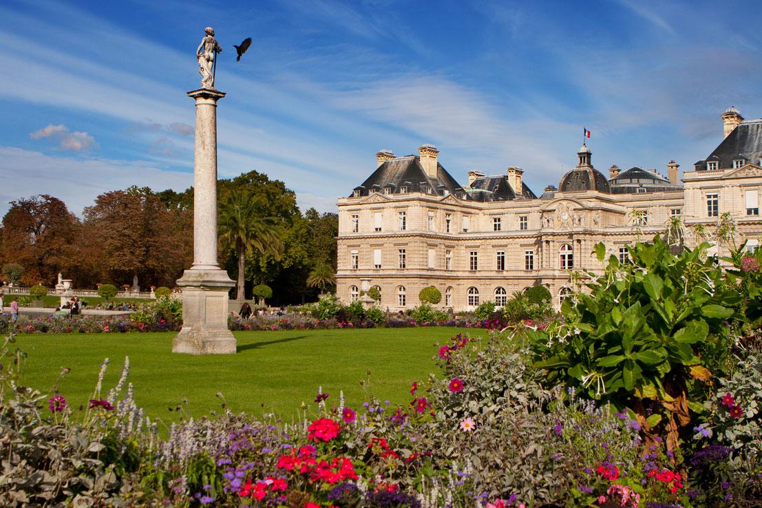 Jardin du Luxembourg (Luxembourg Garden) in Paris, France