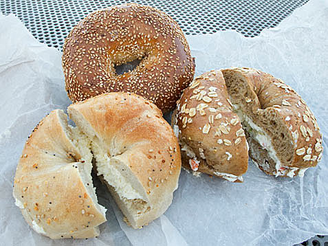 Bagels in Manhattan, New York City