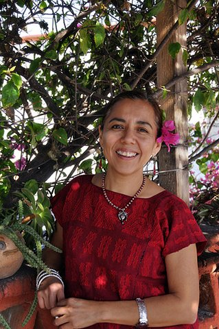 Chef Pilar Cabrera, of La Olla Restaurant in Oaxaca, Mexico