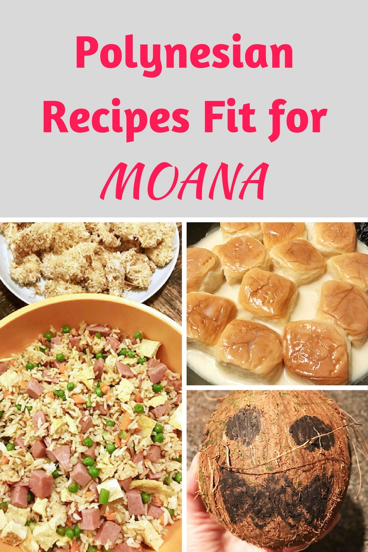What to cook for a Moana viewing party: Polynesian food!