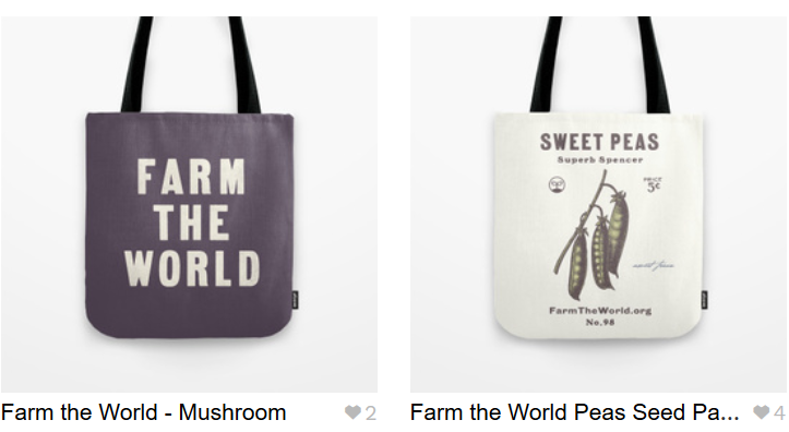 Tote bags from Farm the World