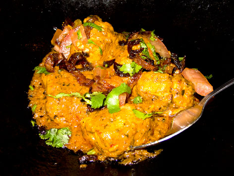 Chicken tikka masala from Tayyabs in London
