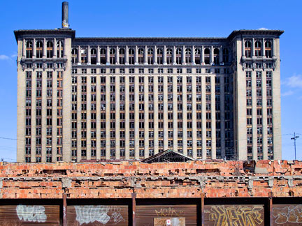 Michigan Central Station in Detroit