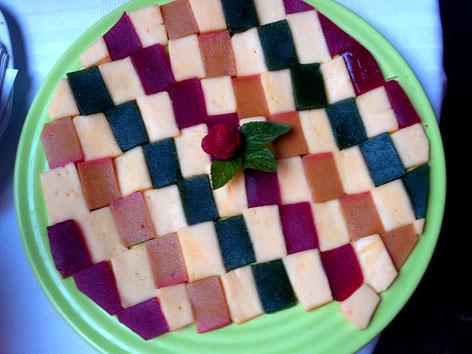 Ates de frutas in Morelia, Michoacan, Mexico
