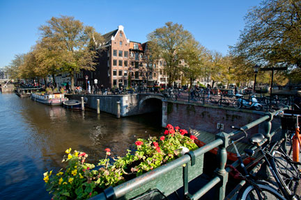 Canals in the Jordaan, Amsterdam