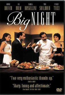 Big Night movie poster