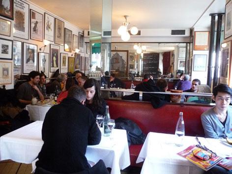Chez Rene, a restaurant in Paris, France