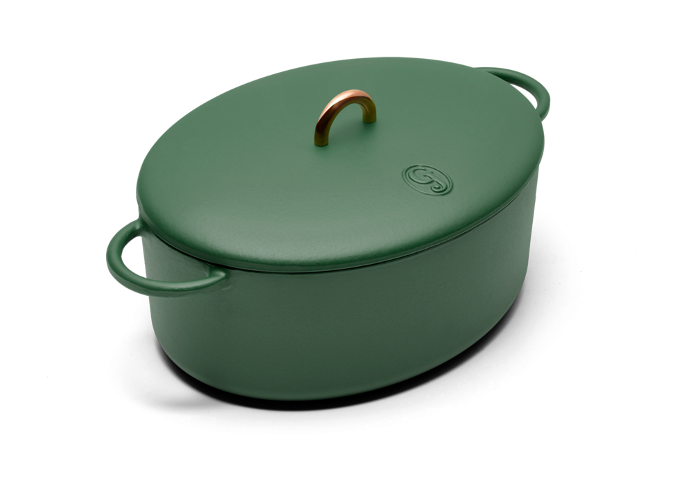 Dutchess cast iron dutch oven from Great Jones
