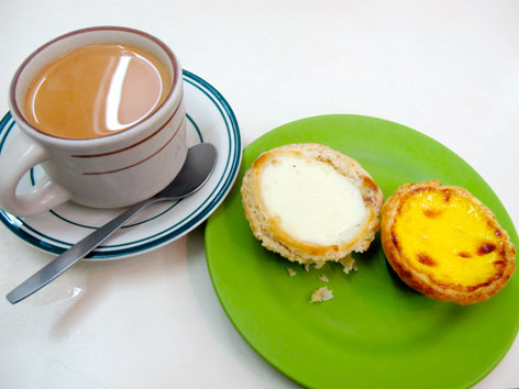 Egg tarts in Macau