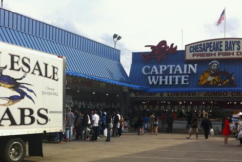 Maine Avenue Fish Market in Washington DC