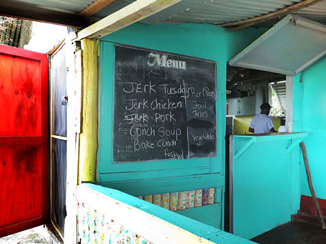 Fisherman Park restaurant in Long Bay, Jamaica