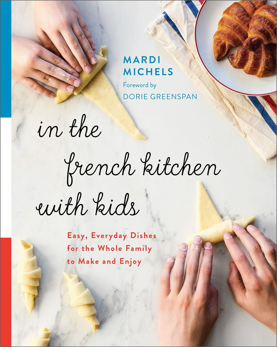 Image of a French cookbook for kids