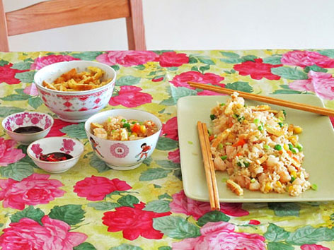 Singaporean fried rice recipe