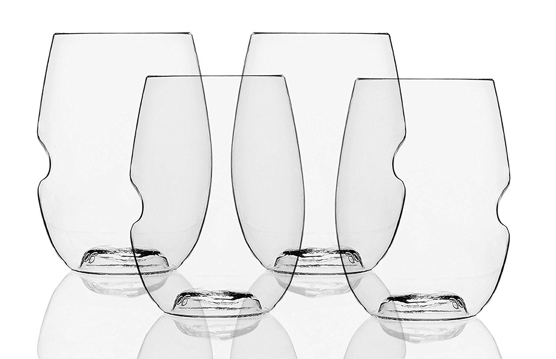 Govina shatterproof plastic wine glasses