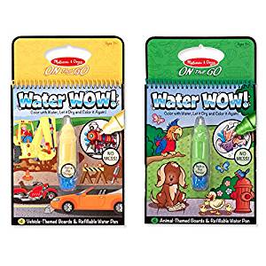Melissa and Doug water wow coloring pads