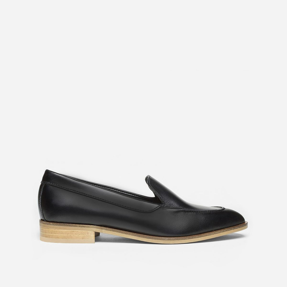 The black Modern Loafer by Everlane