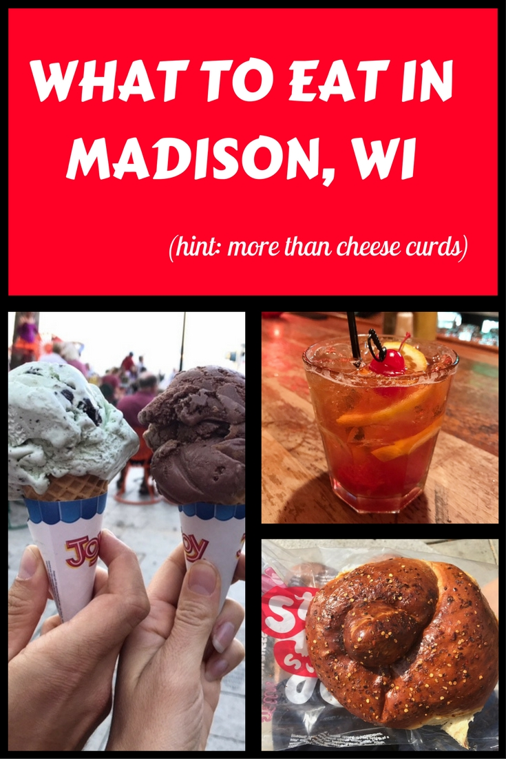 What to Eat in Madison, Wisconsin, graphic