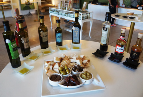 Olive oil and balsamic vinegar tasting in Mendoza, Argentina