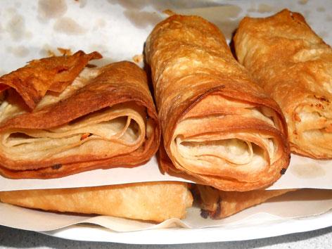 Homemade placinta from Moldova