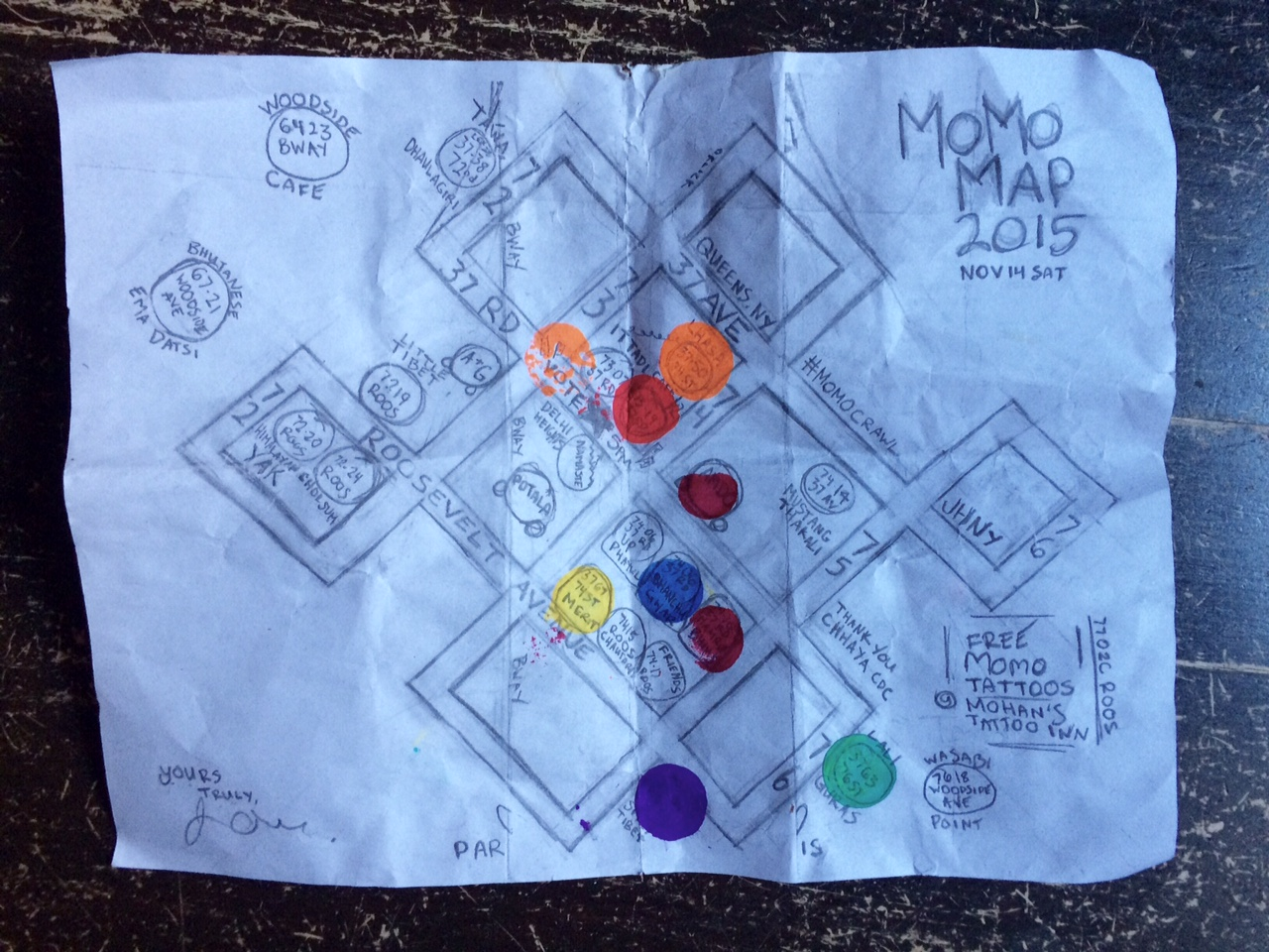 Momo Crawl map