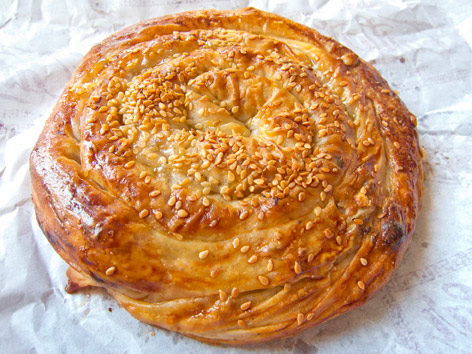 Nokul pastry from Sinop, Turkey