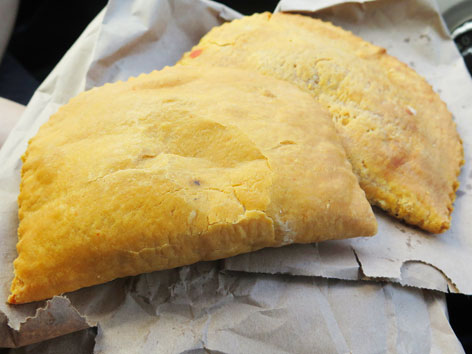 Jamaican beef patties from Jamaica